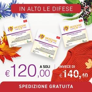 Defense Up Multivitaminico, Intergratori alimentari online - Dom Terry International