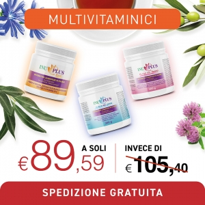Multivitaminici, Intergratori alimentari online - Dom Terry International