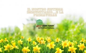 il nostro sistema immunitario....e la primavera!! Dom Terry International integratori alimentari online(1)