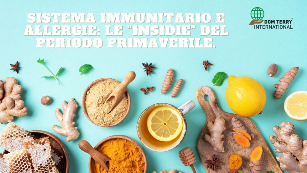 Rinforzare il sistema immunitario in primavera: combattere le allergie.