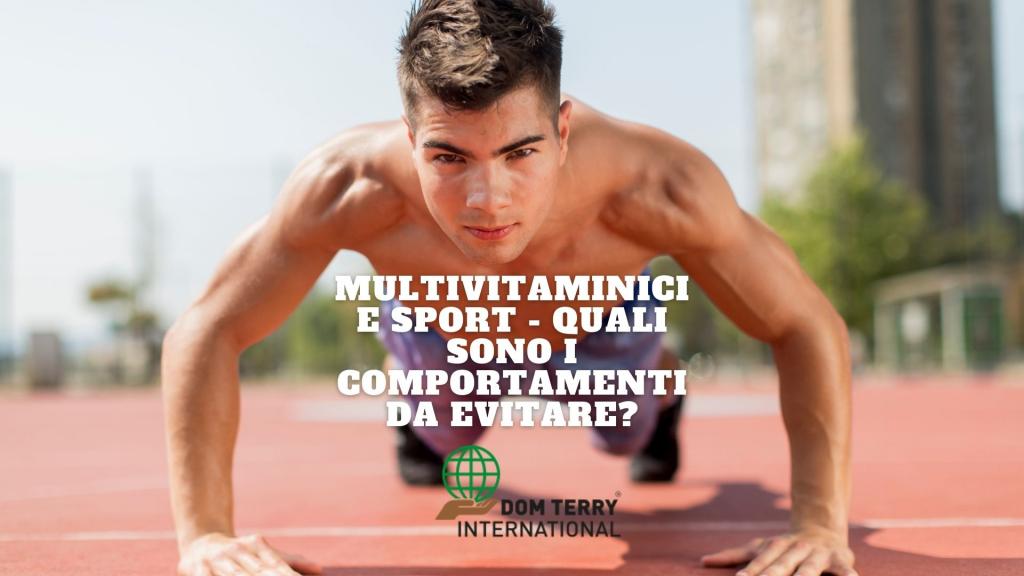 Multivitaminici guida per praticare lo sport in tutta sicurezza, Dom Terry International integratori alimentari online(3)